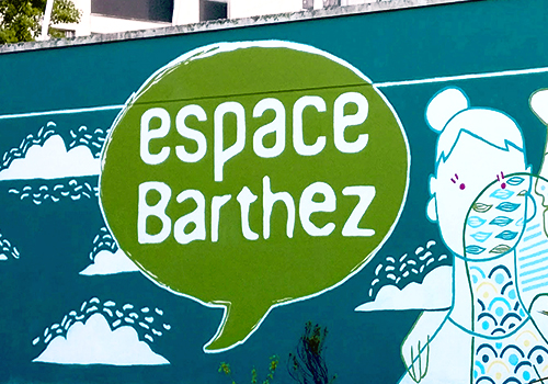 peinture murale Barthez